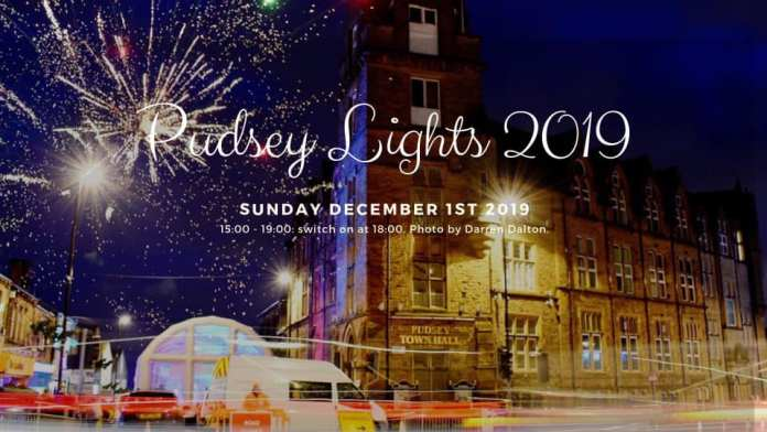 pudsey xhristmas lights 2019
