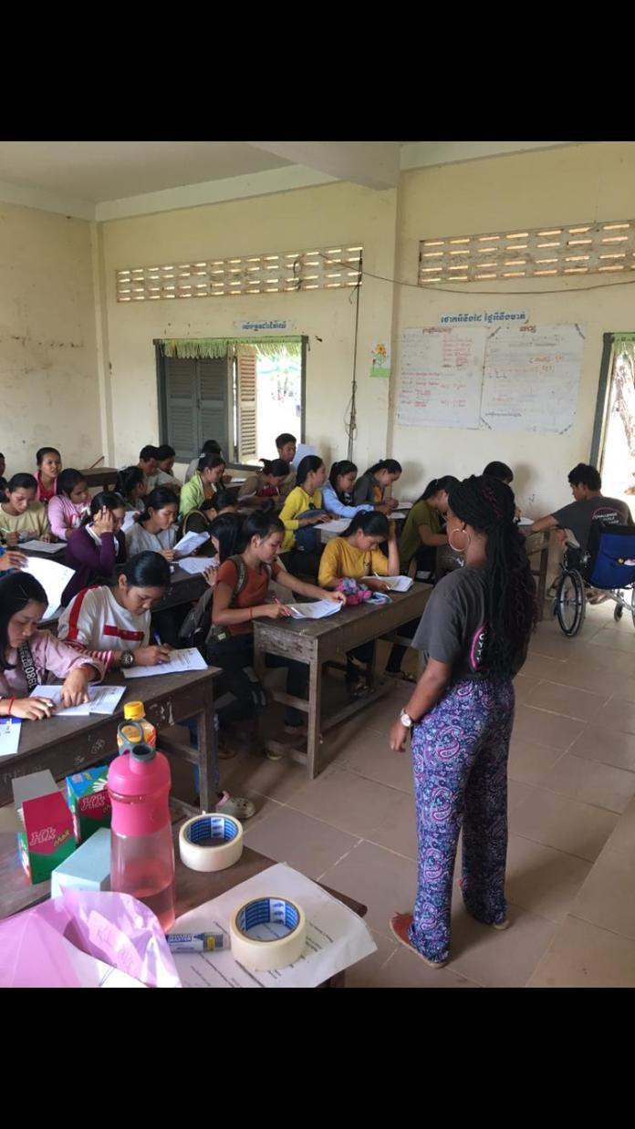From Armley to Cambodia – how volunteer Kimberley is now helping in the UK