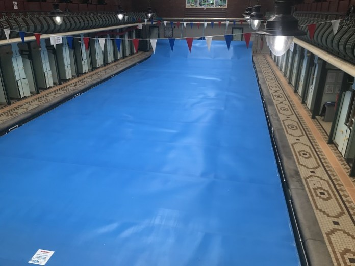 Bramley Baths covered