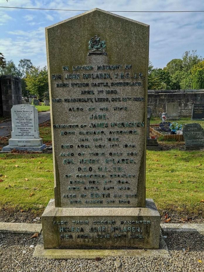 mclaren grave