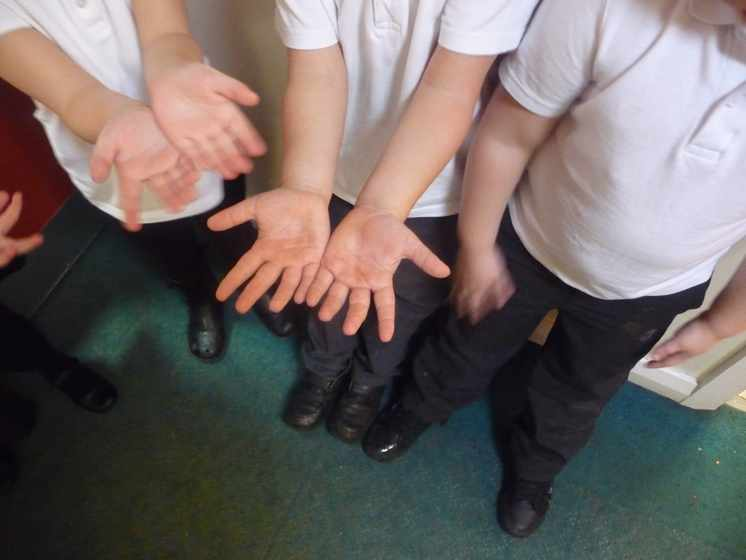 Sparkling Hands