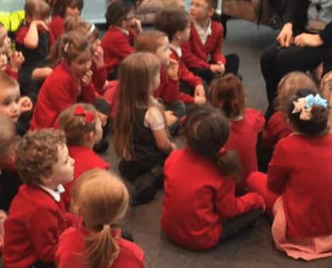 EYFS 2 Library Visit