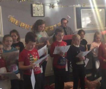 Choir @Woodlands Lodge Christmas 2018