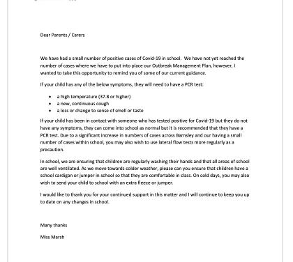 Covid precautions 4 October 2021
