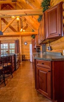 Pentwater Michigan Cabin Galley Kitchen