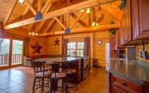Pentwater Michigan Cabin Great Room