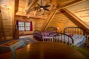 Pentwater Michigan Vacation Rental Loft from Table