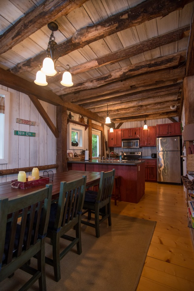 Silver Star Cottage Dining and Kitchen view
