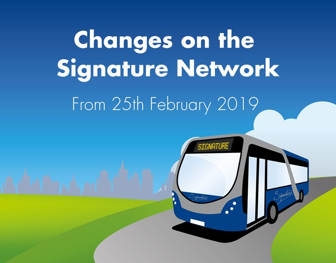 Changes to some Solihull services – 25th February 2019