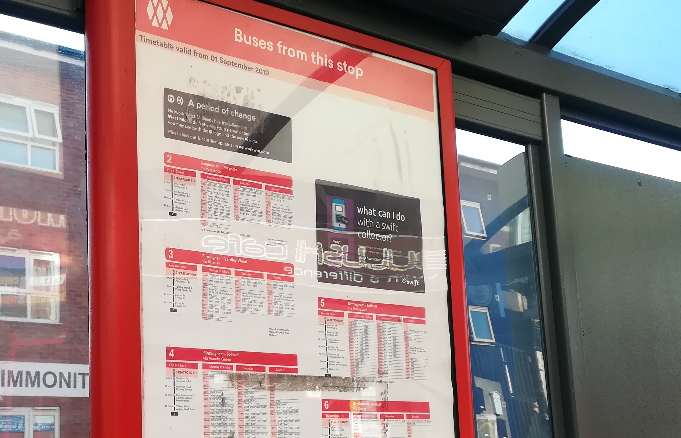 OPINION: Reduced service levels from next week?