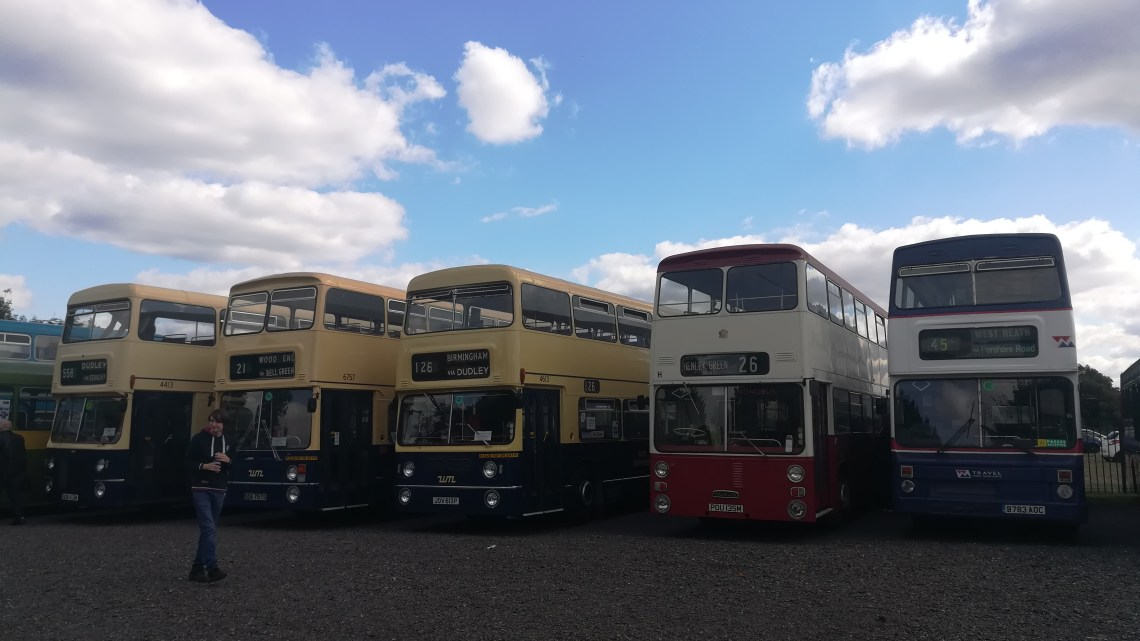 Some pics from Birmingham Bus Bash