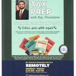 Tax Prep. with Rep. Nick Pisciottano