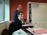 Annie and Joe, CAFOD workshop