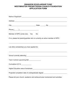 Click the image above to download the application form.