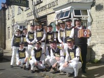 The Crown at Minchinhampton in 2009