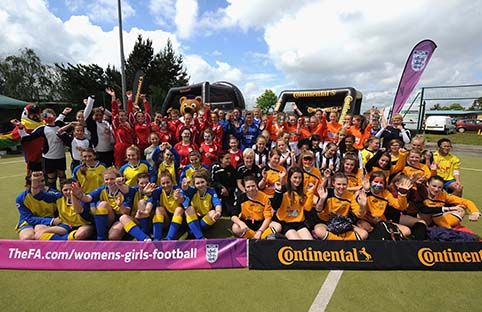 Football Festivals getting more young girls involved in sport