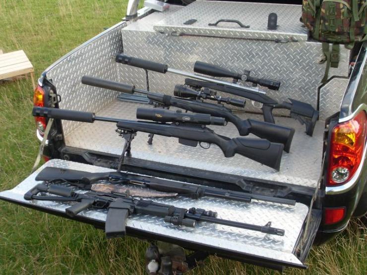 Denis' gun collection