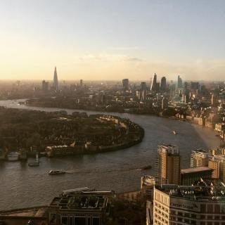 Revolut wants to expand in the UK first ( a view from Revolut's office in Canary Wharf. Credit: Darya Luganksaya