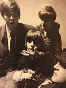 The Beatles by Peter Laurie, 1964. Image by Catherine McMaster
