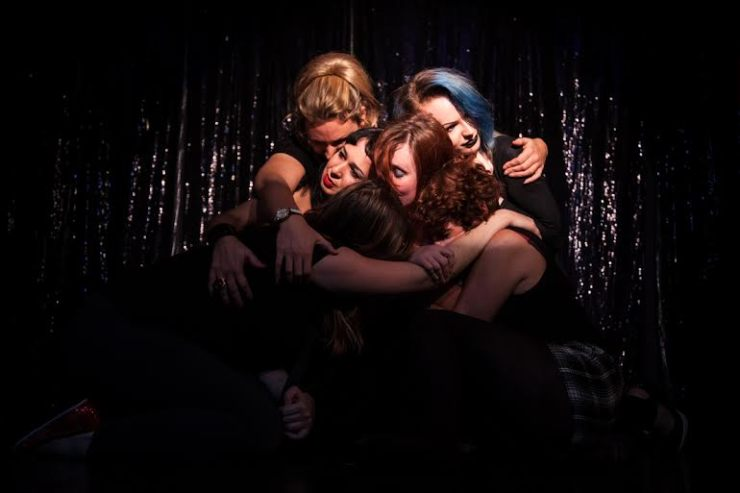 Sex workers and their friends come together in a series of performances to fight against the mistreatment and stigma surrounding sex work. Image by Sex Workers' Opera Press