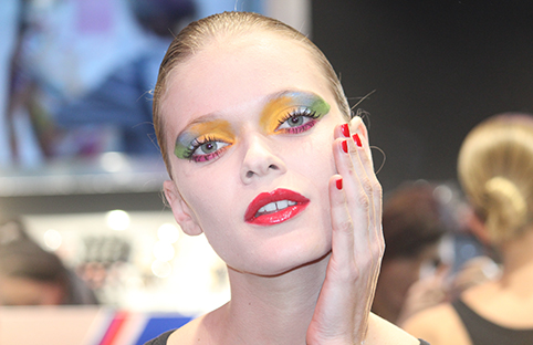 When make-up becomes art: Georgina Graham presented the new limited edition collection of KIKO Milano at Covent Garden