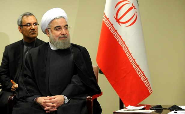 The Iranian president Hassan Rouhani (Photo permitted by: kremlin)