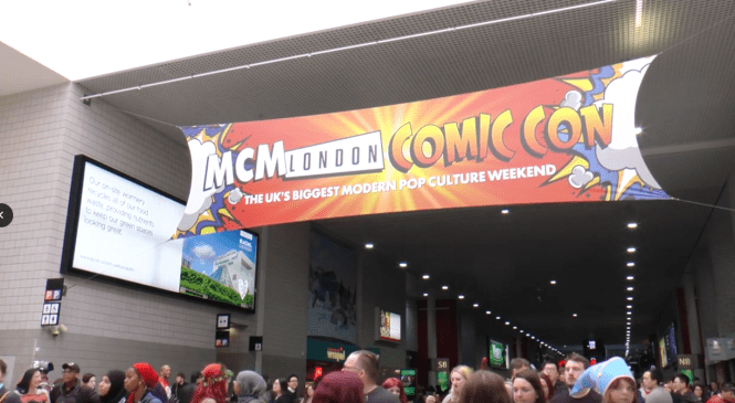 London Comic Con, the costume party for UK cosplayers