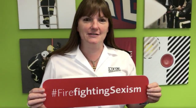 Fireman to firefighter: LFB combats discrimination in anti-sexism campaign