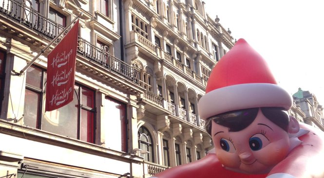Hamleys annual Christmas Toy Parade