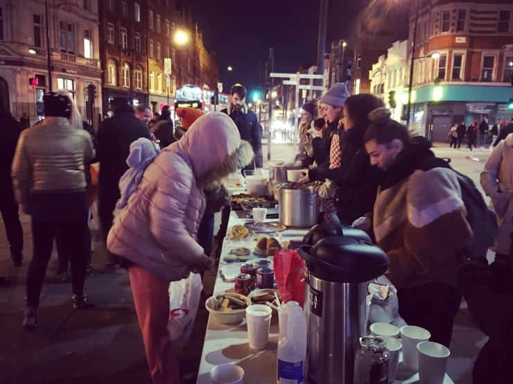 Street Kitchen in Camden Source: Orlando Del Maestro