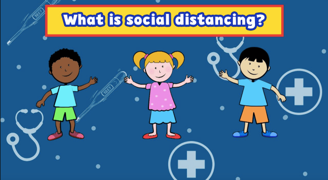 Social distancing doesn't mean kids can't still have fun