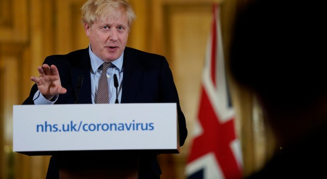 Did Boris Johnson force us into a second lockdown based on fake data?