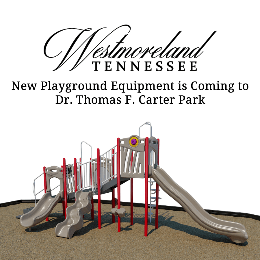 Westmoreland Tennessee New Playground Equipment