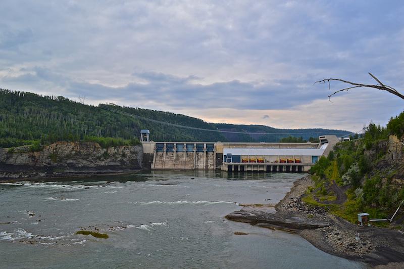 Peace River Canyon Dam