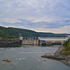 Peace River Canyon Dam