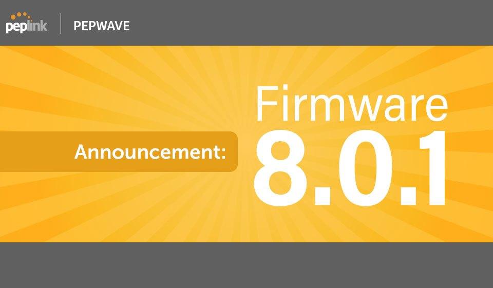 announcement firmware 8.0.1