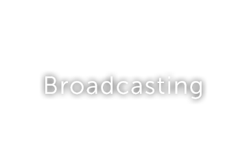 Broadcasting button text