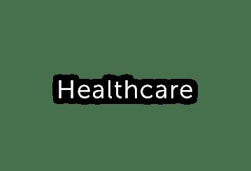 Healthcare button text