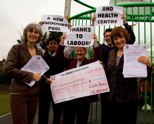 Campaigners for West Norwood Swimming Pool celebrate success
