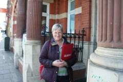 Jane Pickard at The Old Library  opposite St Luke's