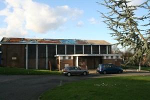 Derelict Norwood Hall
