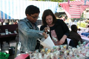 Party cakes stall at April's  Feast