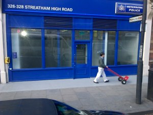 """New police shop in """"the Streatham dip"""""""
