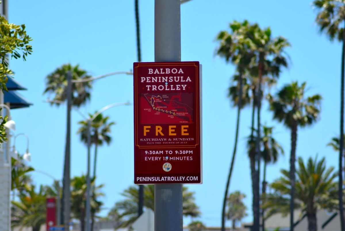 How to Ride the Balboa Peninsula Trolley