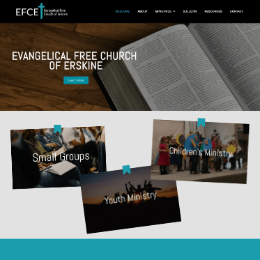 Erskine Church Website