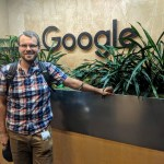 Me visiting the Google Portland office