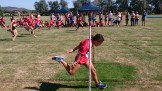 The finish to the 2016 Redback Gift (Girls)