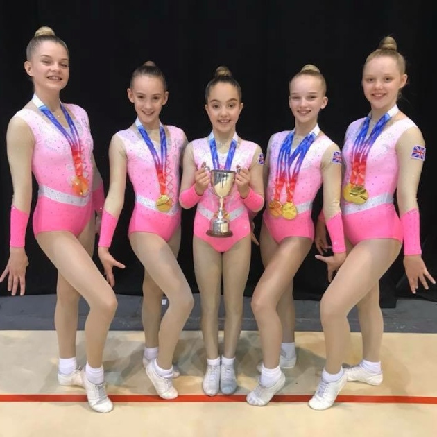the 5 team world silver medalists - British GOLD medalists
