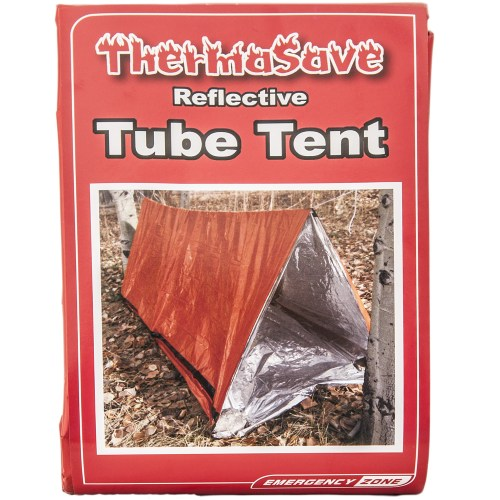 EZ122 (2) Thermasave Reflective Tube Tent