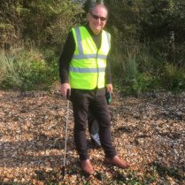 Peter from Friends of Weston Shore
